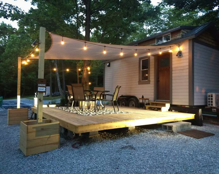 Little Eventyr Tiny House of the Laurel Highlands - These 10 Airbnb tiny houses let you experience compact living in style