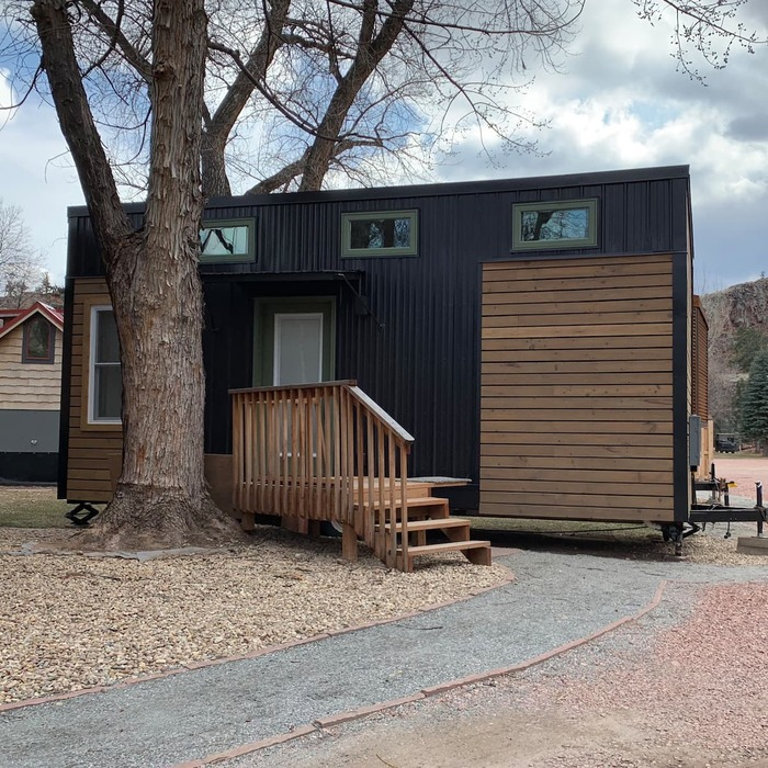 Lyons Juniper Tiny Home Vacation - These 10 Airbnb tiny houses let you experience compact living in style