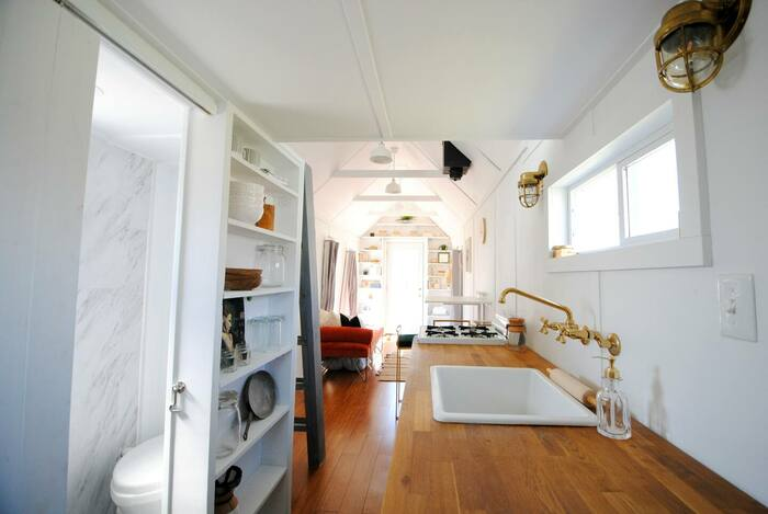 Modern Bright Tiny House 3 - These 10 Airbnb tiny houses let you experience compact living in style