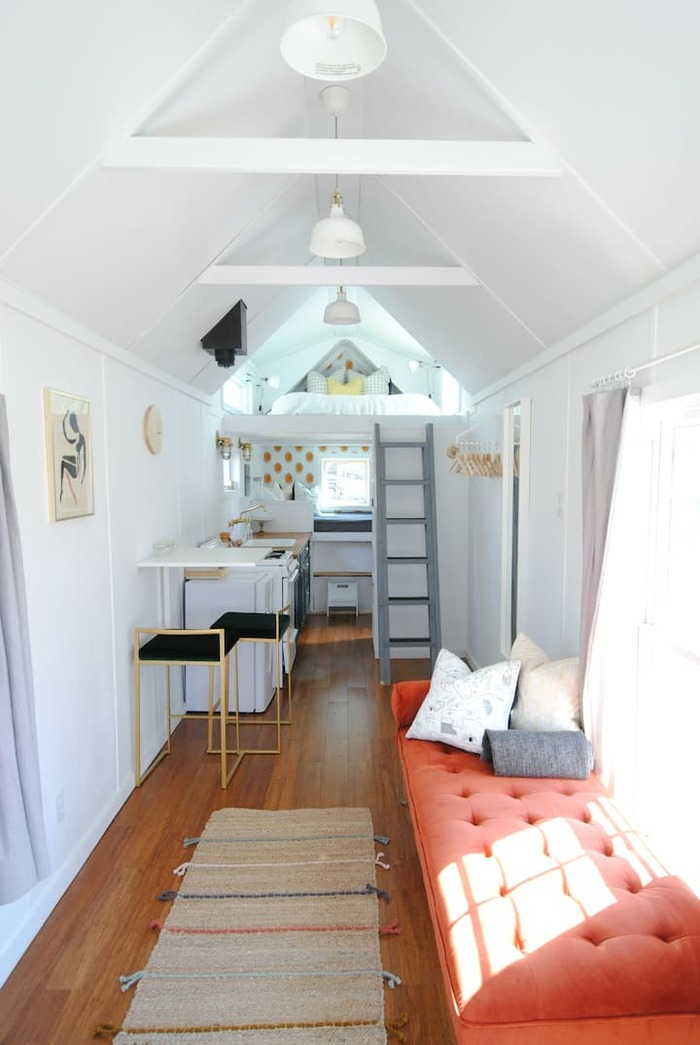 Modern Bright Tiny House - These 10 Airbnb tiny houses let you experience compact living in style