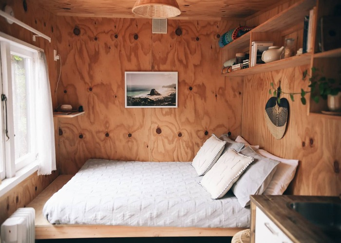 Snug tiny house Auckland new zealand 3 - These 10 Airbnb tiny houses let you experience compact living in style