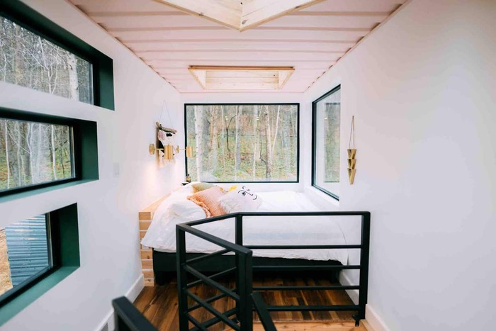 The BoHo Box Hop Hocking Hills 3 - These 10 Airbnb tiny houses let you experience compact living in style