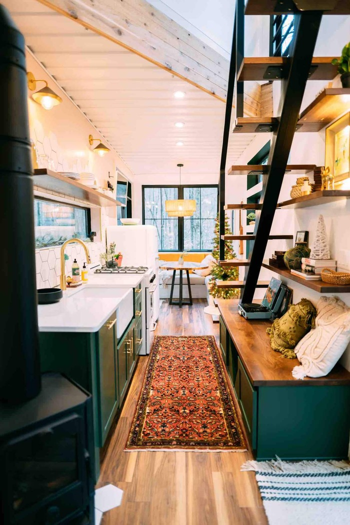 The BoHo Box Hop Hocking Hills 4 - These 10 Airbnb tiny houses let you experience compact living in style