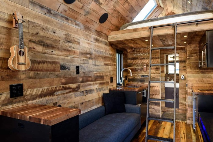 Tiny House in Seattle 2 - These 10 Airbnb tiny houses let you experience compact living in style