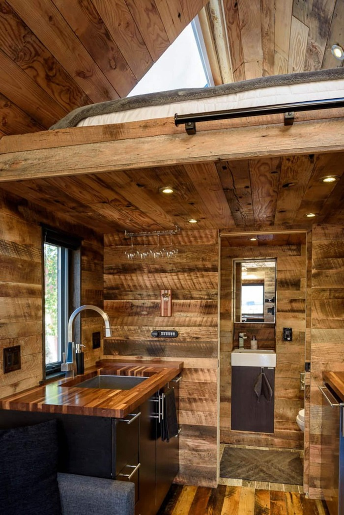 Tiny House in Seattle 4 - These 10 Airbnb tiny houses let you experience compact living in style