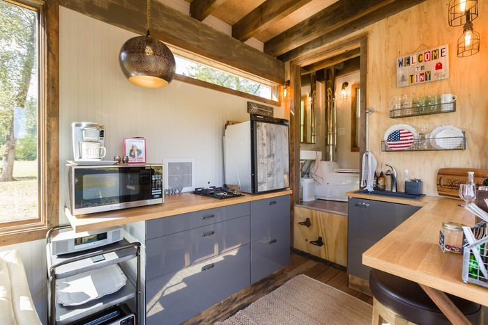 Tiny River House on Clackamas River 4 - These 10 Airbnb tiny houses let you experience compact living in style