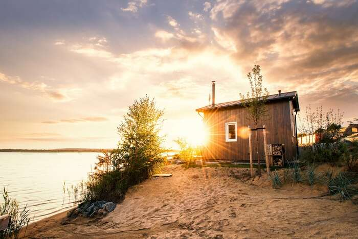 Zweiufer Tiny House am Hainer See - These 10 Airbnb tiny houses let you experience compact living in style