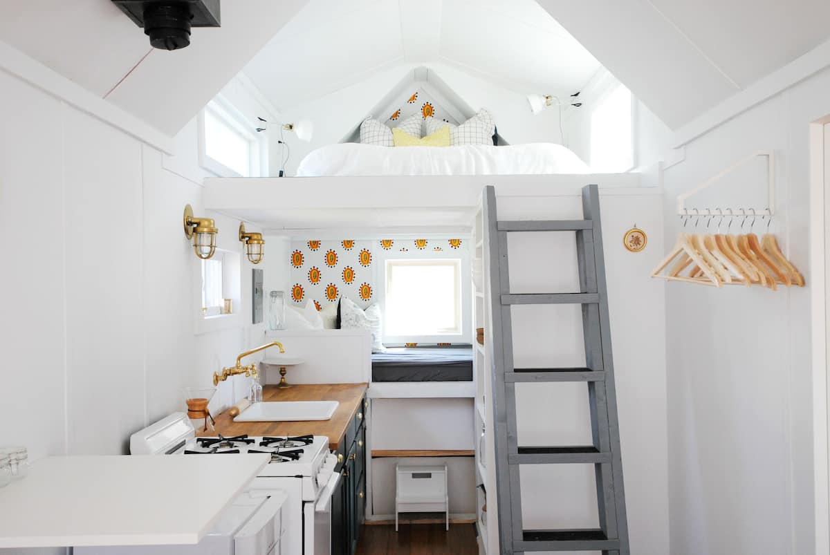 bright tiny house - These 10 Airbnb tiny houses let you experience compact living in style