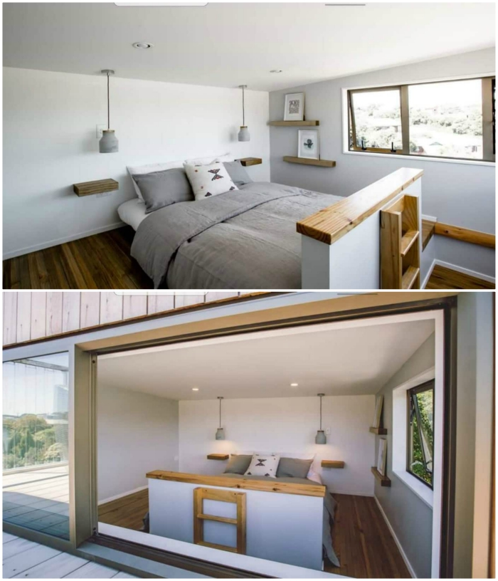 tiny bedroom - These 10 Airbnb tiny houses let you experience compact living in style