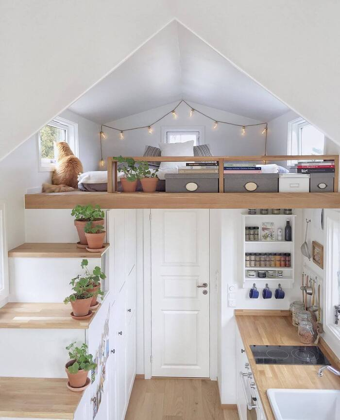 tiny house mikrohus 10 - Norwegian tiny house a bright and airy Scandi-style haven