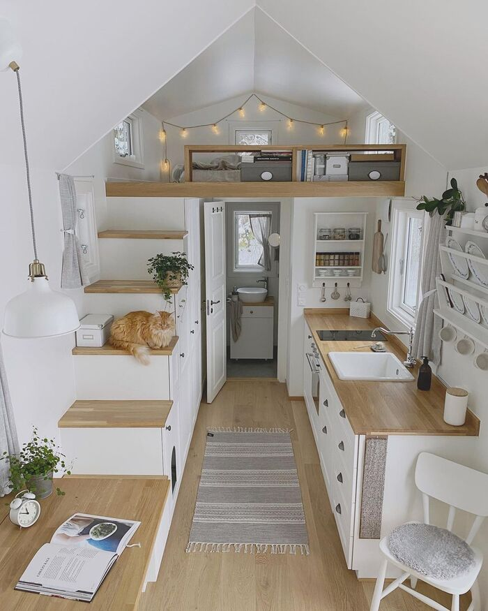 tiny house norway mikrohus 32 - Norwegian tiny house a bright and airy Scandi-style haven