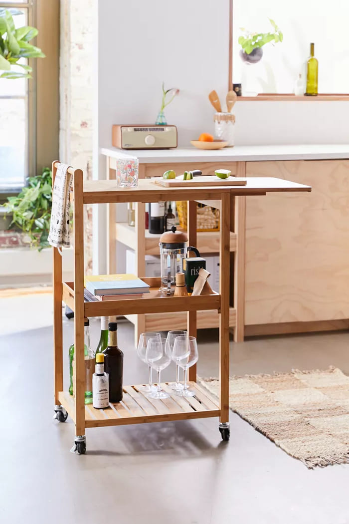 52080710 014 b - Add gorgeous storage to your home with these 25 rolling carts