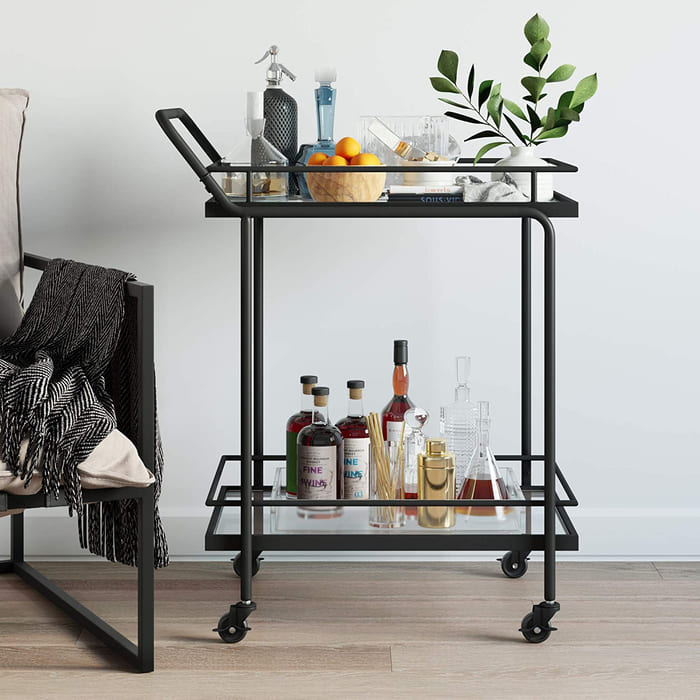 81jIEBlSccL. AC SL1500  - Add gorgeous storage to your home with these 25 rolling carts