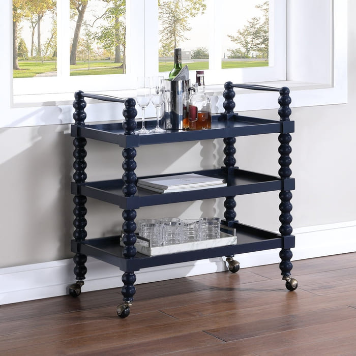Addison 3 shelf Multi use Cart by Greyson Living - Add gorgeous storage to your home with these 25 rolling carts