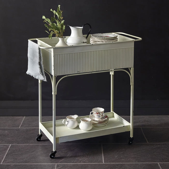 Dayton Rolling Cart - Add gorgeous storage to your home with these 25 rolling carts