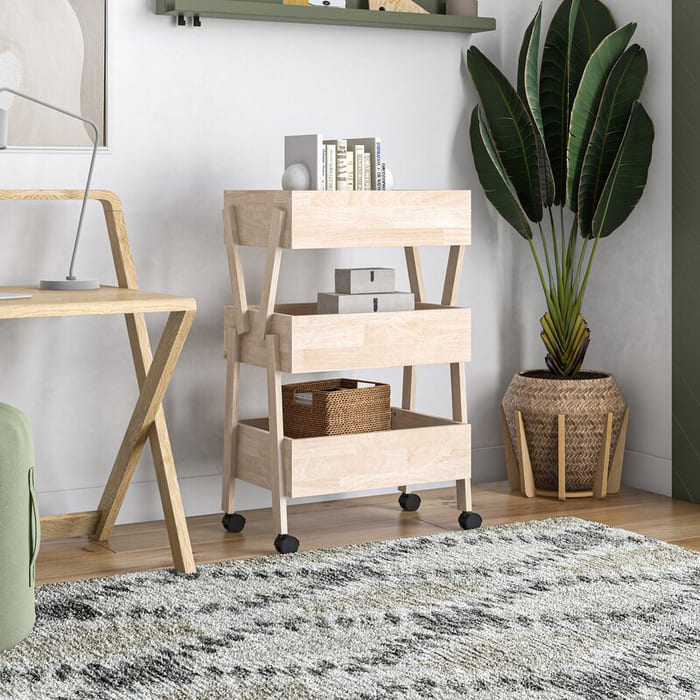 DeontaBarCart - Add gorgeous storage to your home with these 25 rolling carts