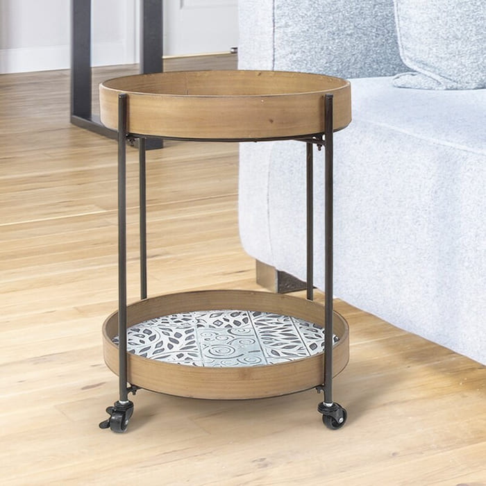 IdlewildBarCart - Add gorgeous storage to your home with these 25 rolling carts