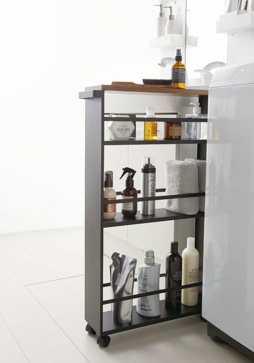 TowerRollingSlimUtilityCart 1 - Add gorgeous storage to your home with these 25 rolling carts