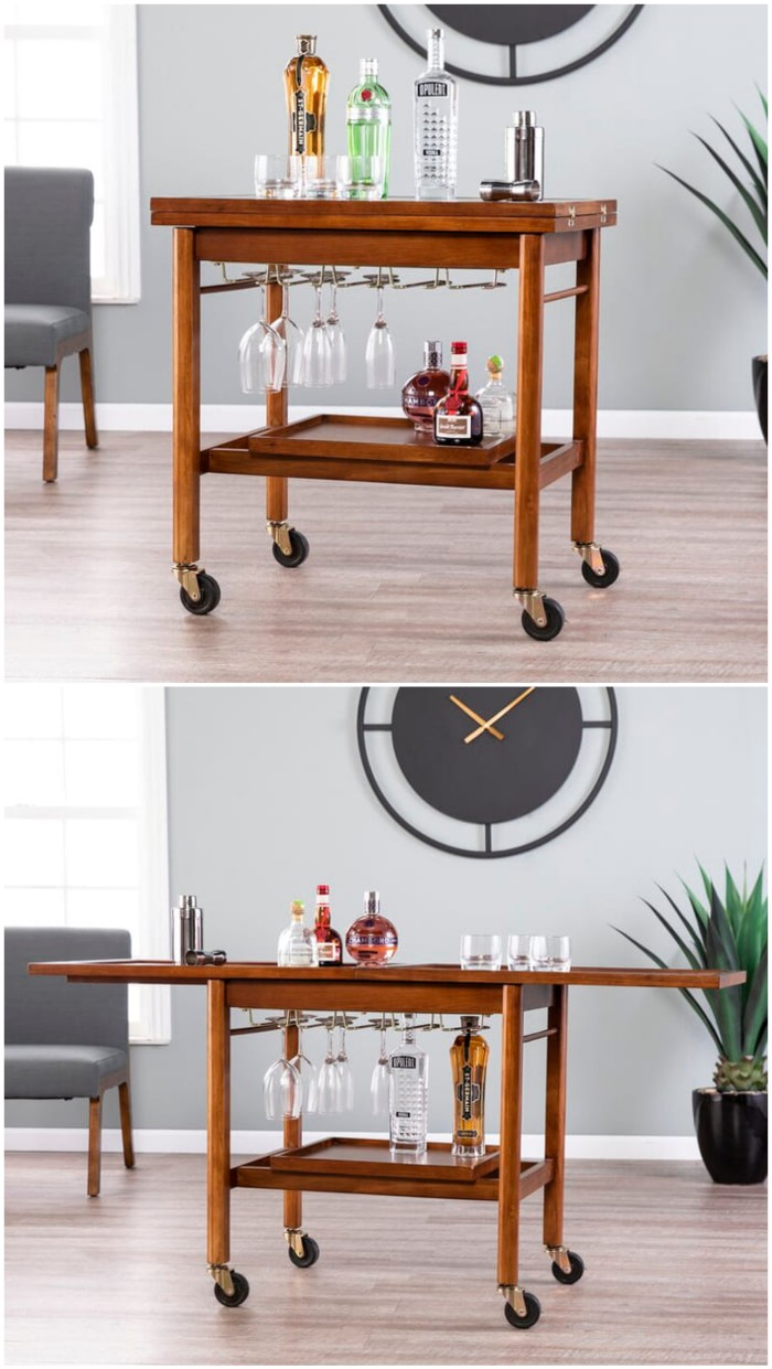 bar cart - Add gorgeous storage to your home with these 25 rolling carts