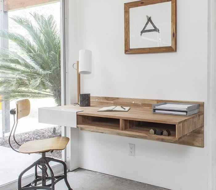 desk lax - 25 gorgeous desks for your small space