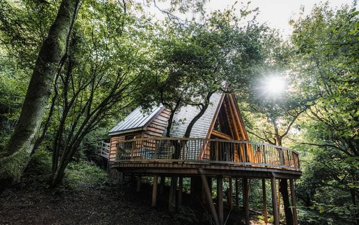 hudnalls hideout tree house 1 - Five magical treehouse getaways
