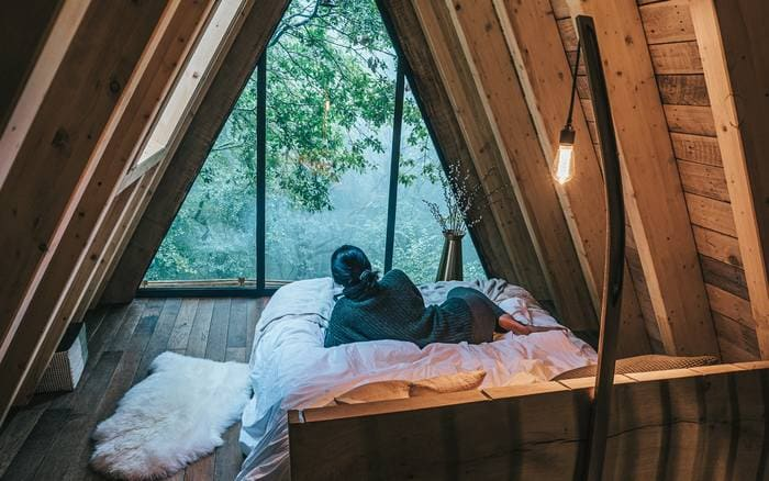 hudnalls hideout tree house - Five magical treehouse getaways