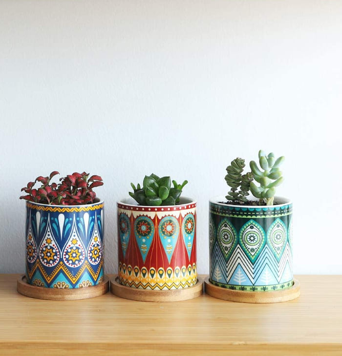 planter 10 - Give your favorite plant a fabulous makeover with one of these 25 planters
