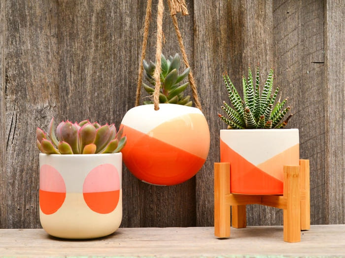 planter 7 1 - Give your favorite plant a fabulous makeover with one of these 25 planters