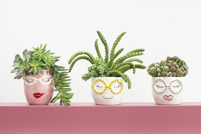 planter 8 - Give your favorite plant a fabulous makeover with one of these 25 planters