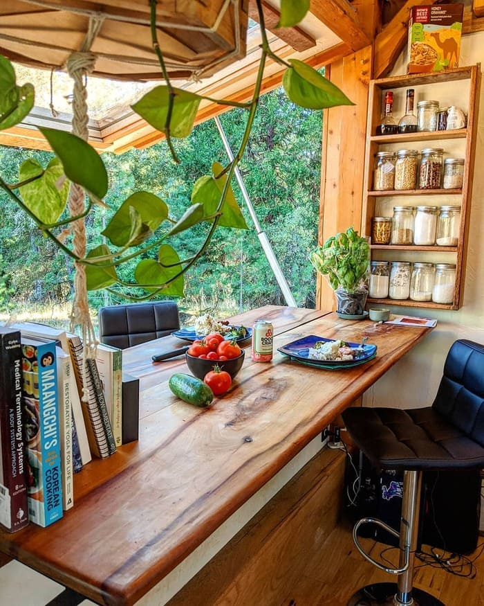 tiny home wild adventures 27 - Couple built tiny house entirely from scratch - even milling their own lumber