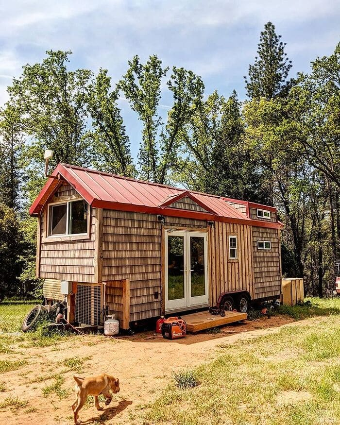 tiny home wild adventures 6 - Couple built tiny house entirely from scratch - even milling their own lumber