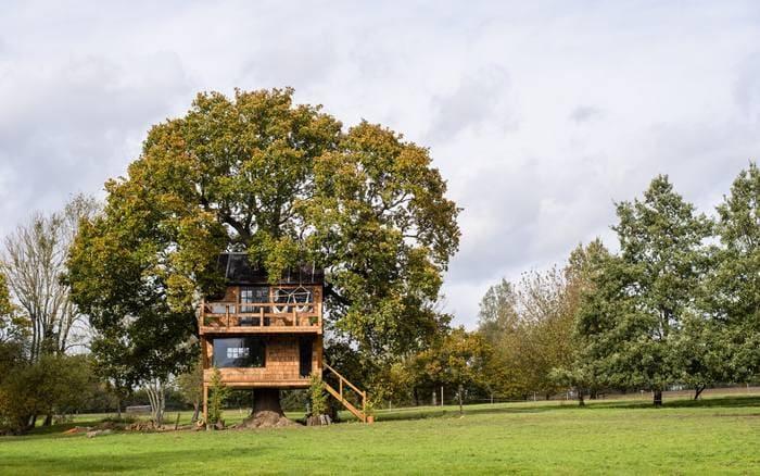 tree house 1 - Five magical treehouse getaways