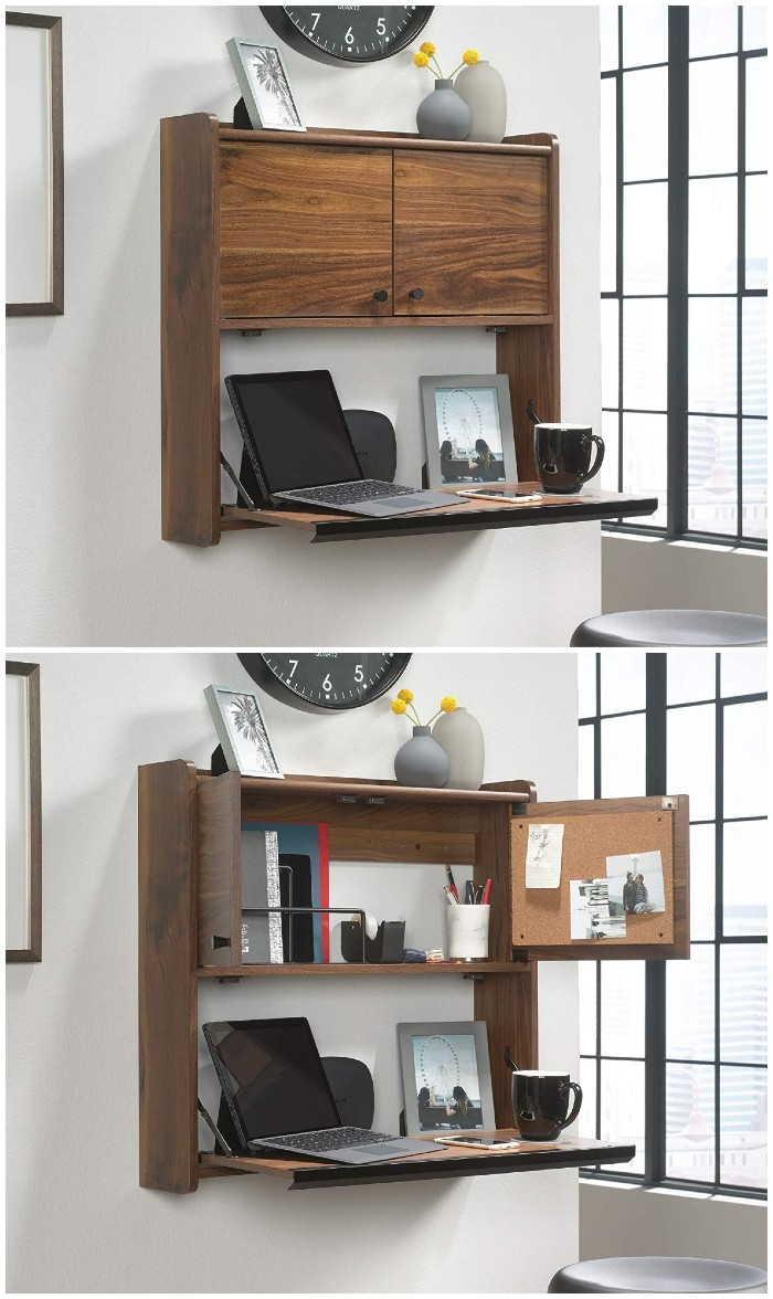 wall desk 2 - 25 gorgeous desks for your small space
