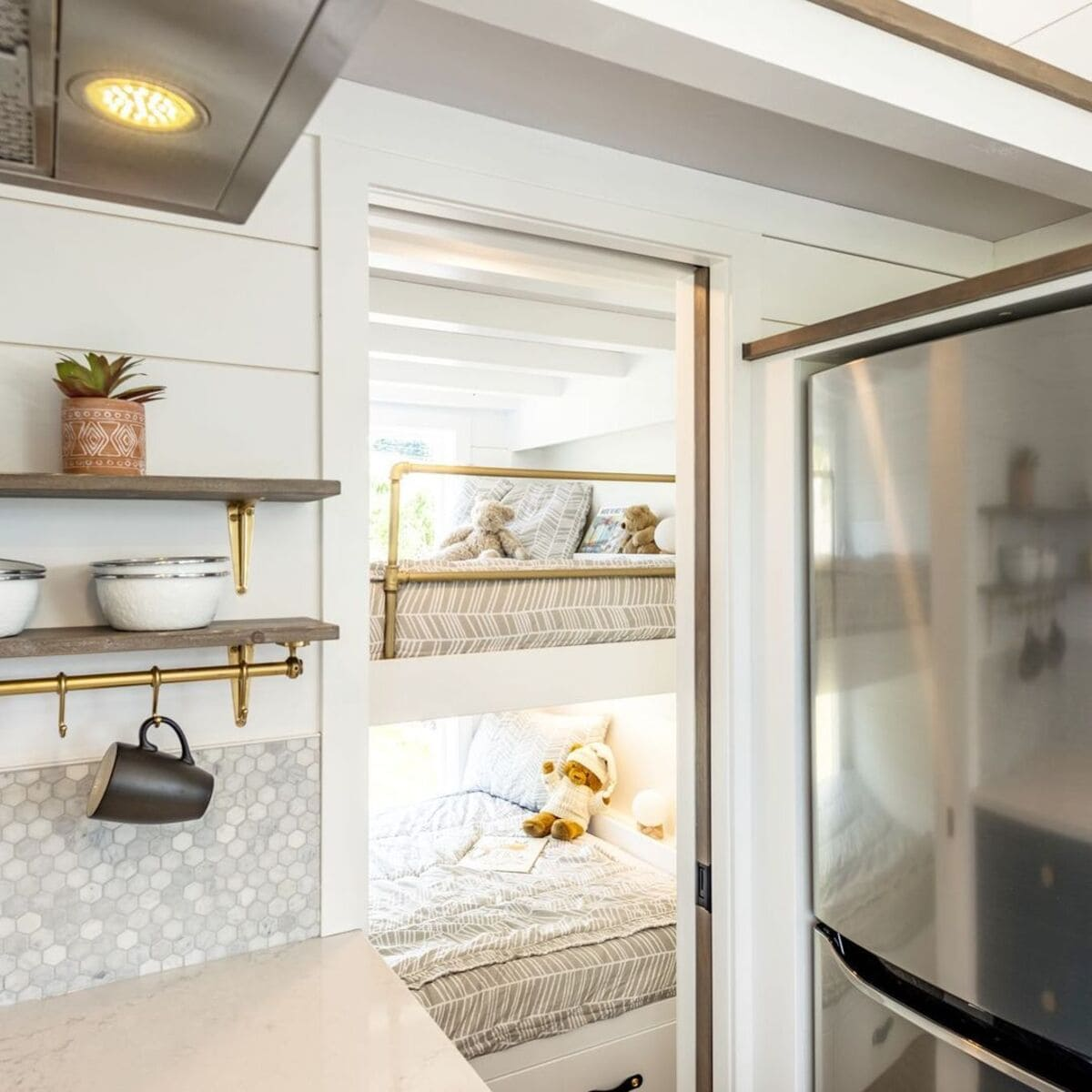 magnolia tiny house 1 1 - Tiny house serves as family holiday home and retirement investment