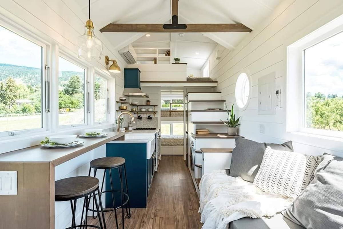 magnolia tiny house 21 1 - Tiny house serves as family holiday home and retirement investment