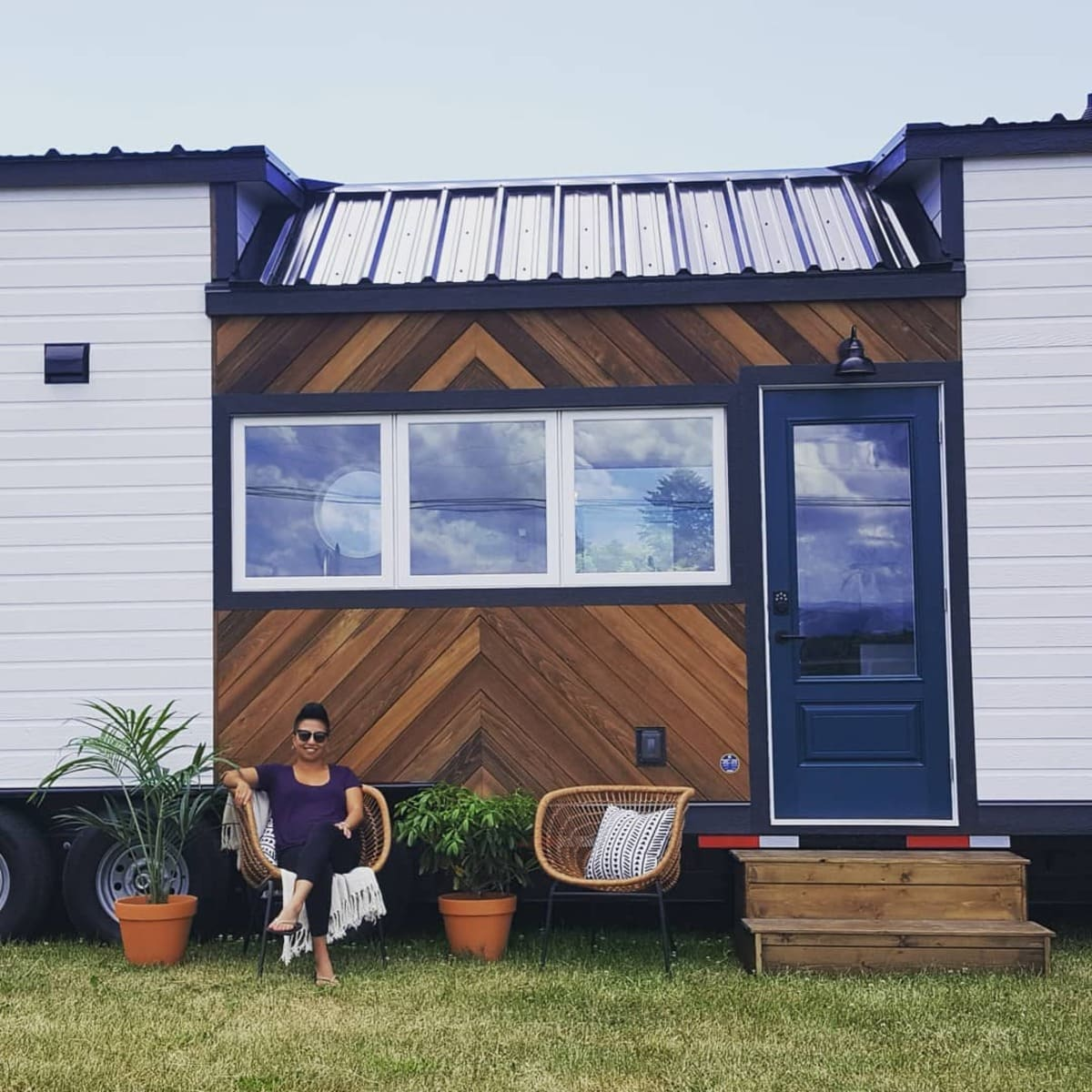 magnolia tiny house 22 1 - Tiny house serves as family holiday home and retirement investment