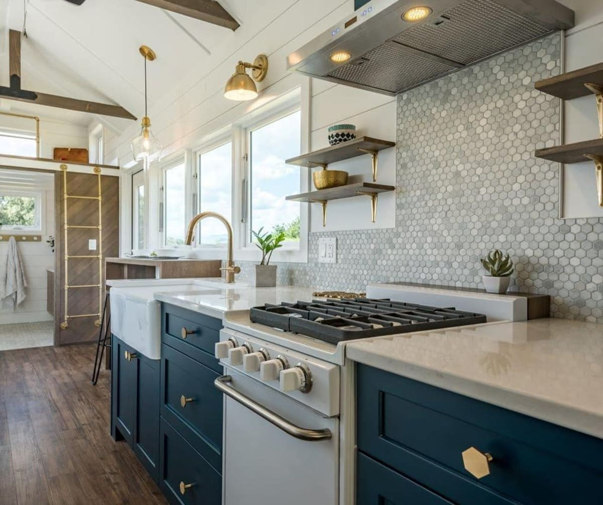 magnolia tiny house 6 1 - Tiny house serves as family holiday home and retirement investment