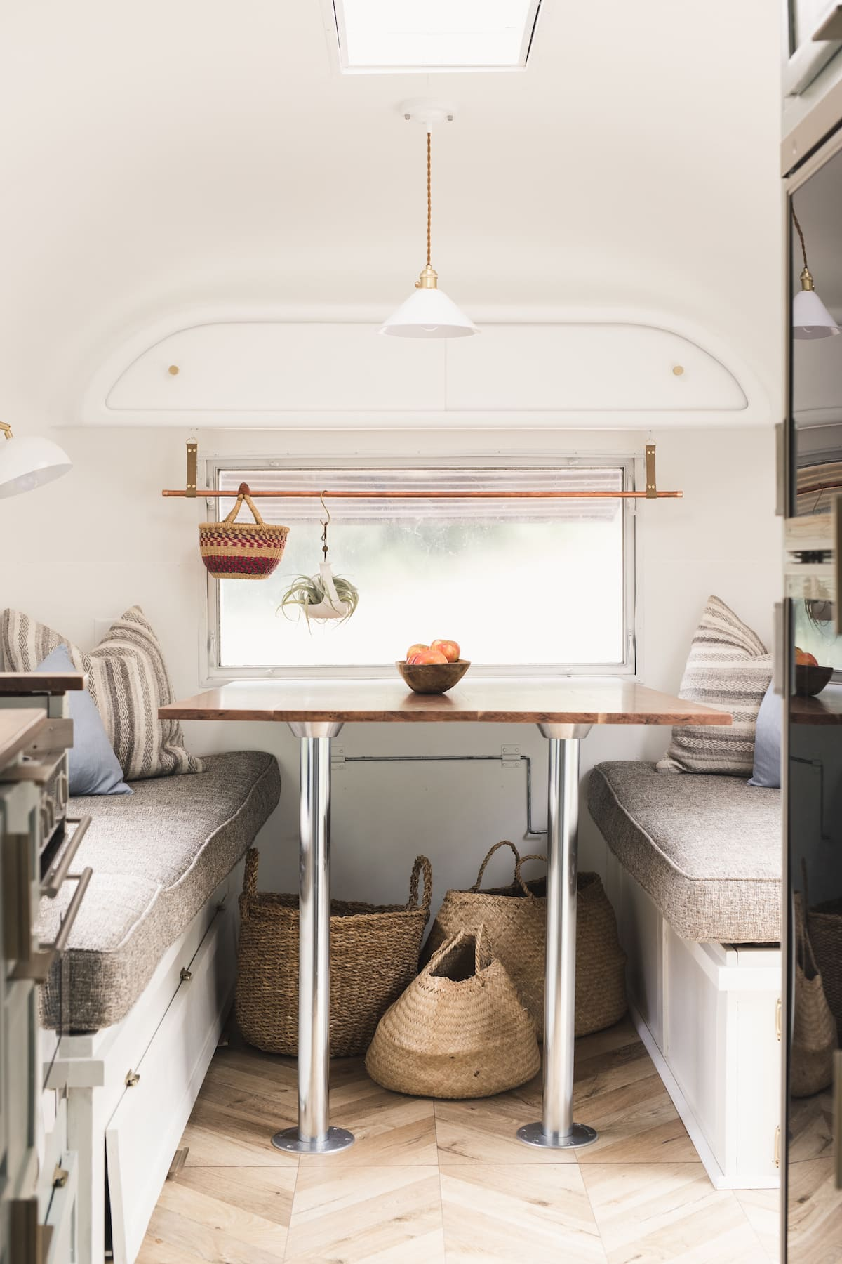 marjorie airstream 2 - This renovated Airstream trailer is all floral and boho-chic charm