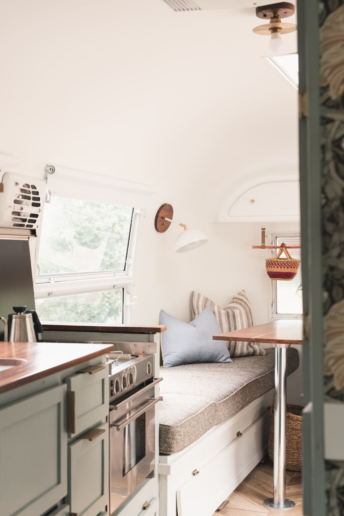 marjorie airstream 3 - This renovated Airstream trailer is all floral and boho-chic charm