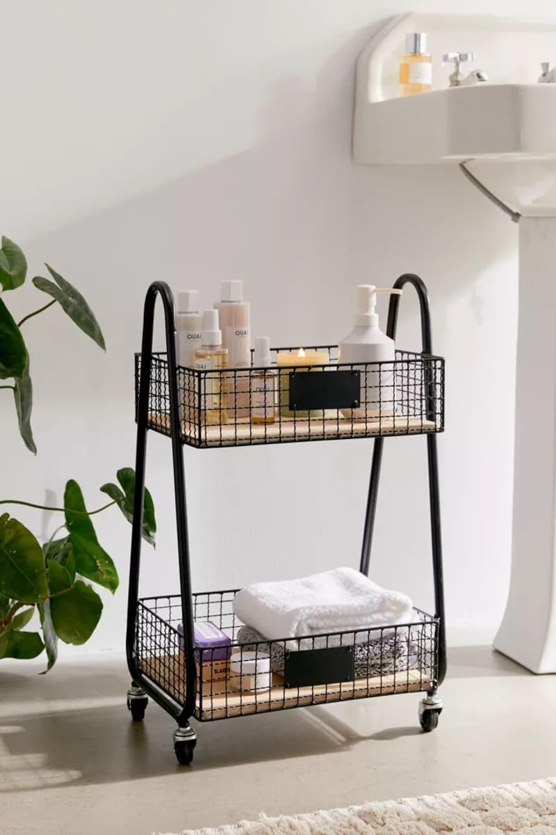 bath organization 11 - 30 brilliant organizing ideas for your small bathroom 2021