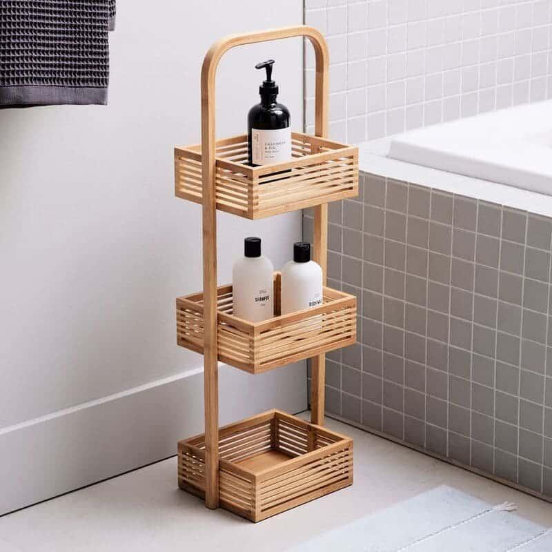 bath organization 14 - 30 brilliant organizing ideas for your small bathroom 2021