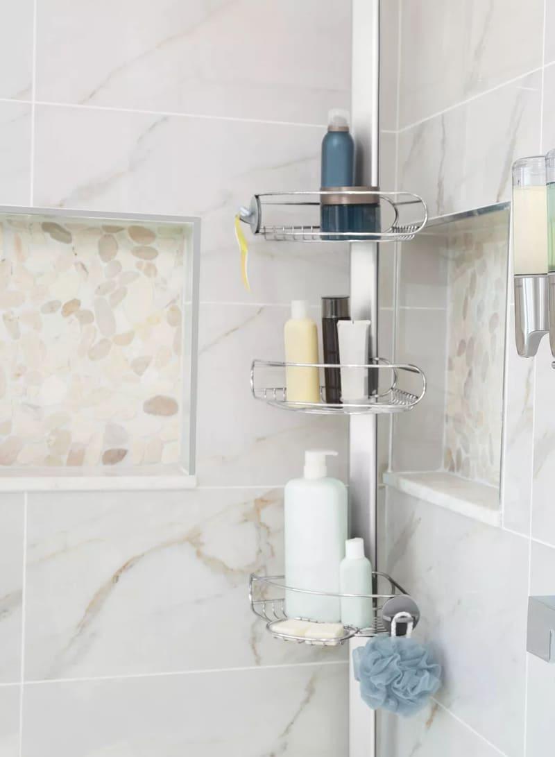 bath organization 15 - 30 brilliant organizing ideas for your small bathroom 2021