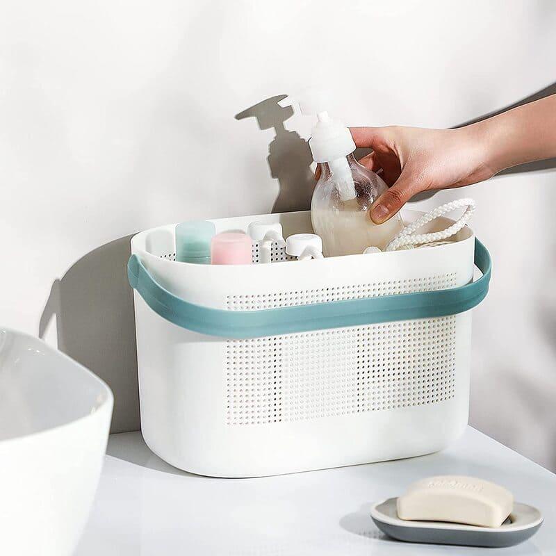 bath organization 2 - 30 brilliant organizing ideas for your small bathroom 2021