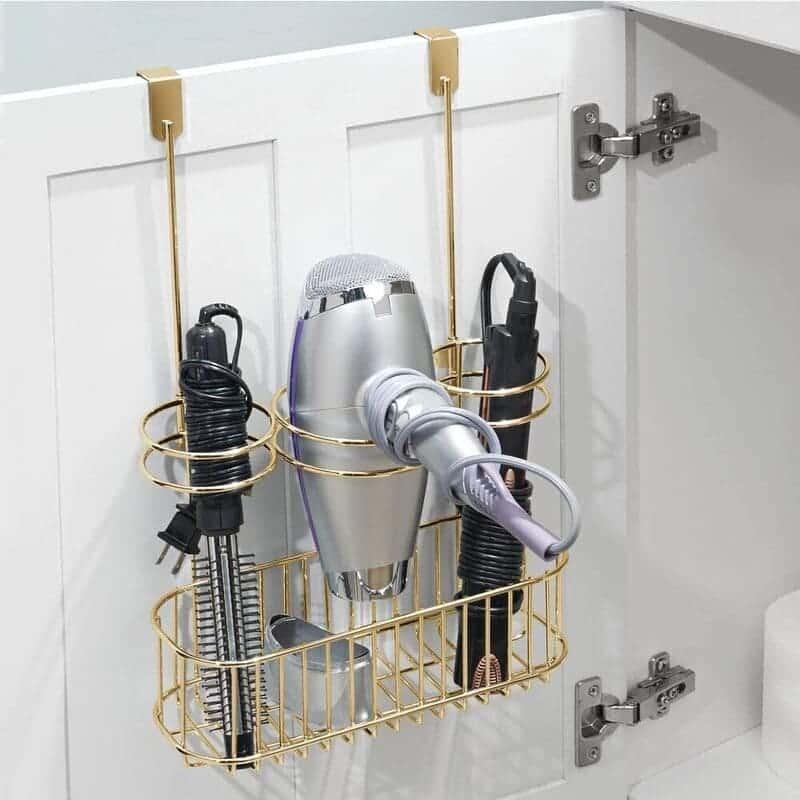 bath organization 5 - 30 brilliant organizing ideas for your small bathroom 2021