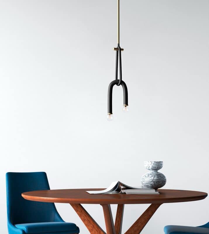 black pendant - 27 unique pendants to light up your home