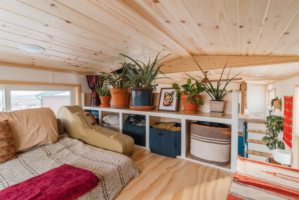 tiny house Den Loft 4 - This luxurious tiny house does not hold back on function - it even has a mudroom