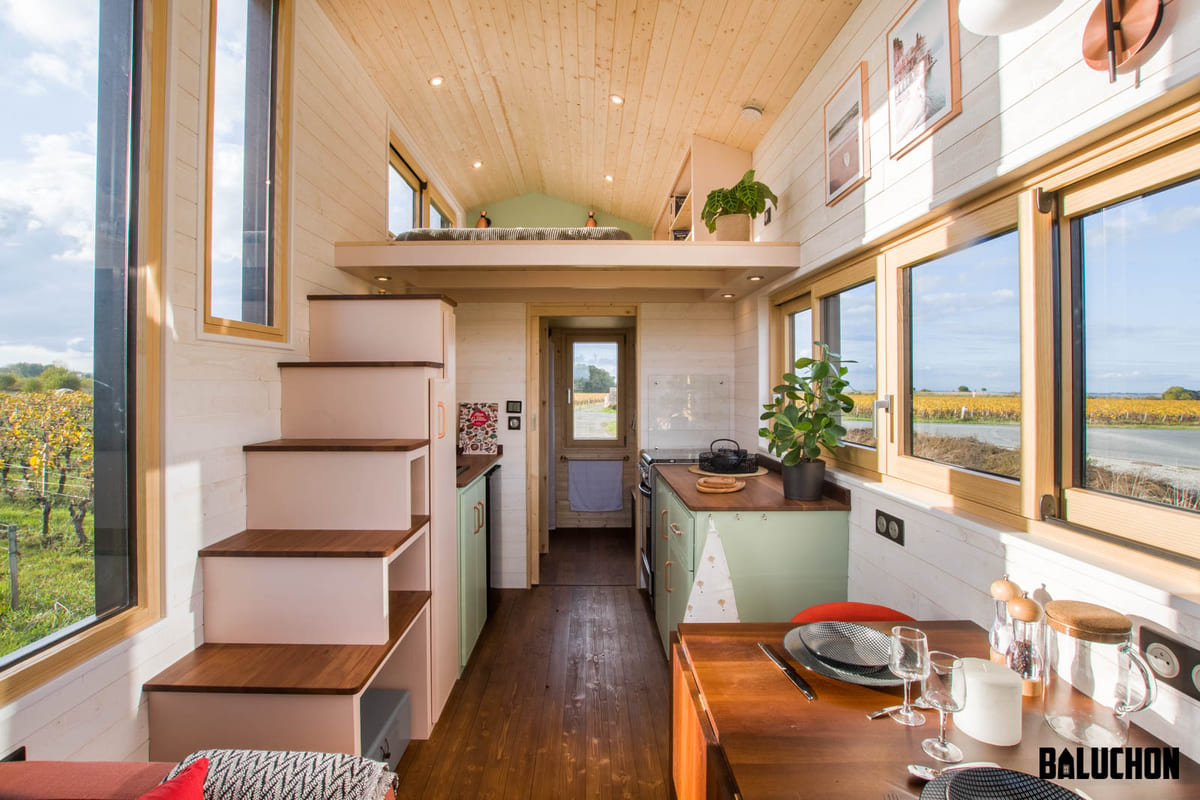 tiny house baluchon 13 1 - A tiny home on wheels: travel meets small living