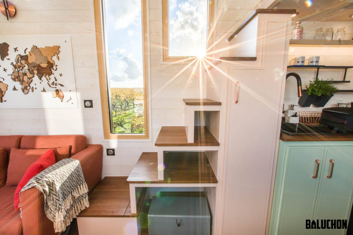 tiny house baluchon 14 1 - A tiny home on wheels: travel meets small living