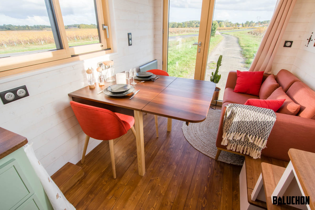 tiny house baluchon 16 1 - A tiny home on wheels: travel meets small living