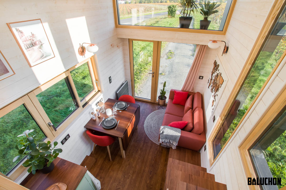 tiny house baluchon 17 1 - A tiny home on wheels: travel meets small living